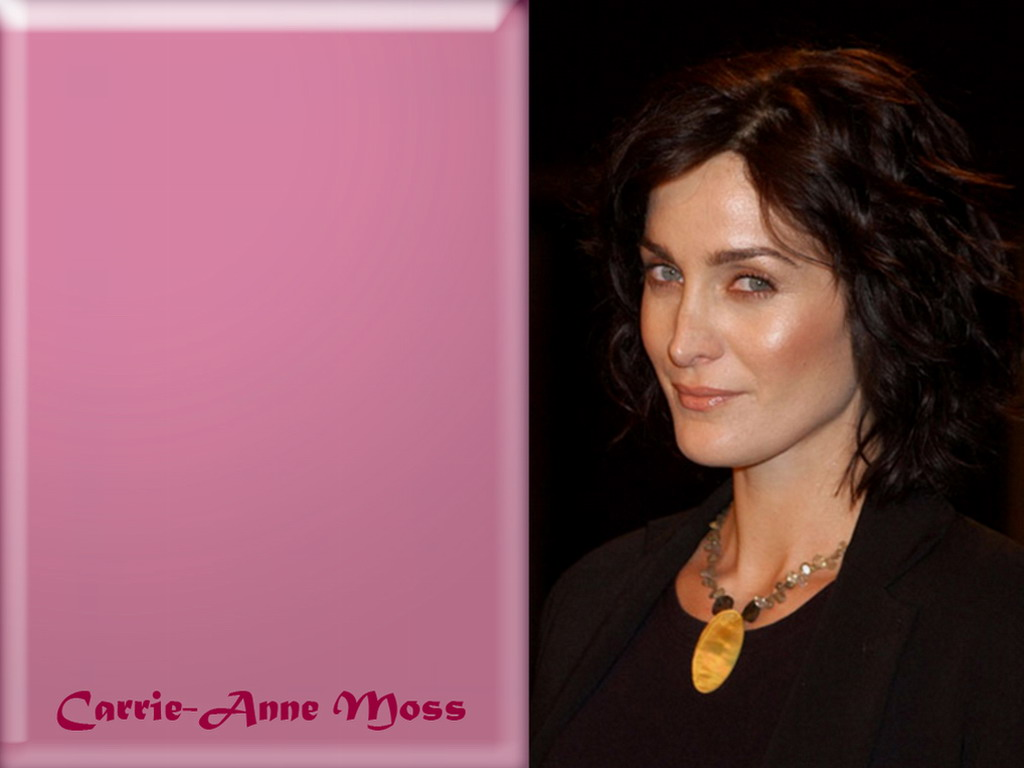Carrie Anne Moss - Wallpaper Gallery