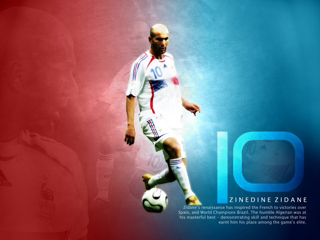Zidane - Wallpaper Hot